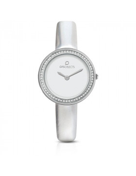 OPS OROLOGIO CUTE SILVER DONNA OPSPW-674