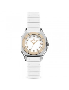 OPS OROLOGIO OPSOBJECTS PARIS STONES BIANCO IPR DONNA OPSPW-517