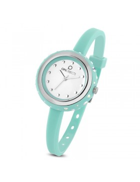 OPS OROLOGIO OPSOBJECTS BON BON STARDUST VERDE ACQUA SS DONNA OPSPW-434