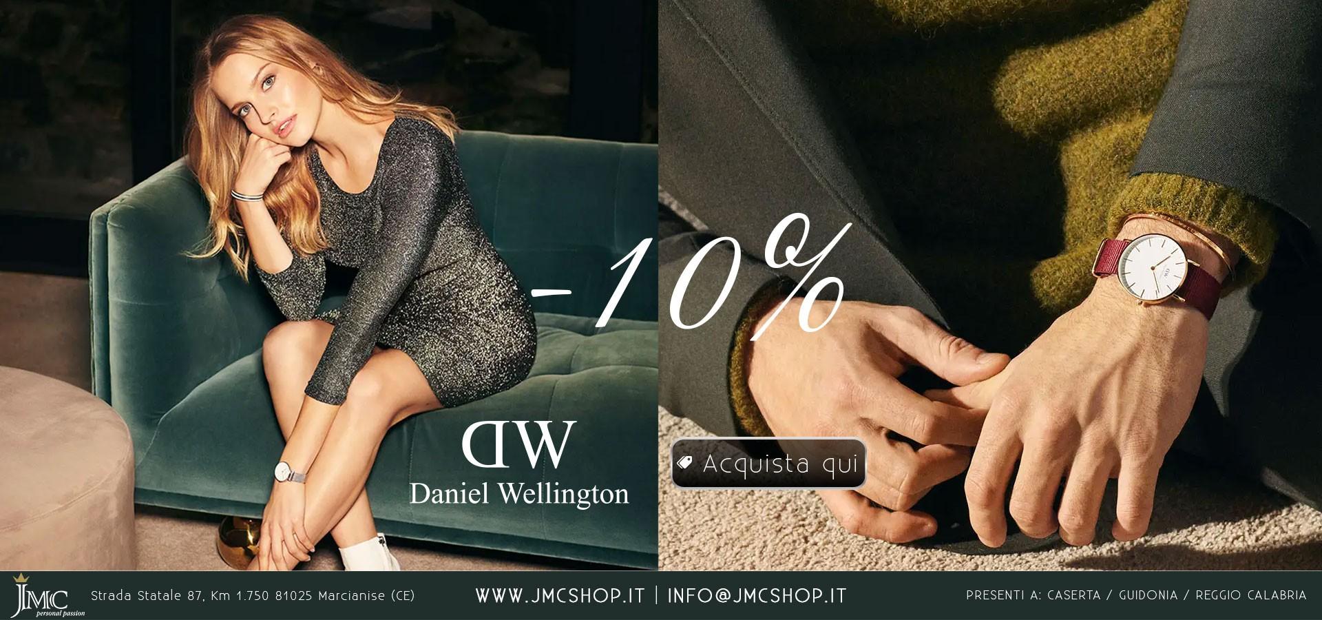 DANIEL WELLINGTON OROLOGI 10%